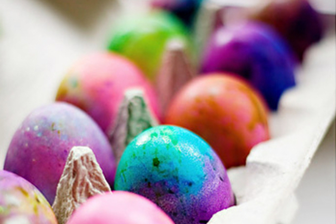 Опасните Е-та в боята за яйца