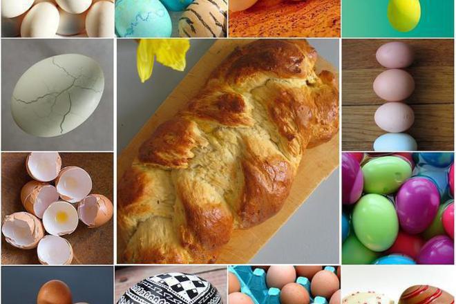 На Велика събота шарим яйца и печем козунаци