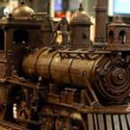 34-метров влак от шоколад направиха в Белгия