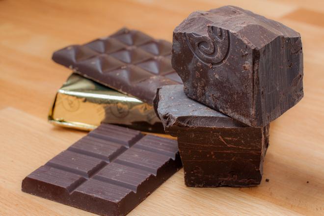 Шоколадът е полезен в малки количества