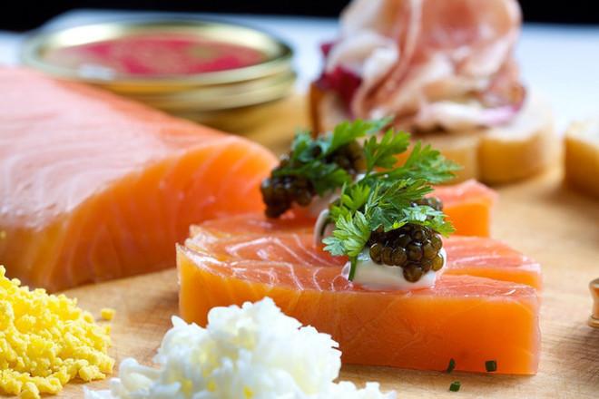 Хайверът - ценна храна, пълна с подхранващи вещества