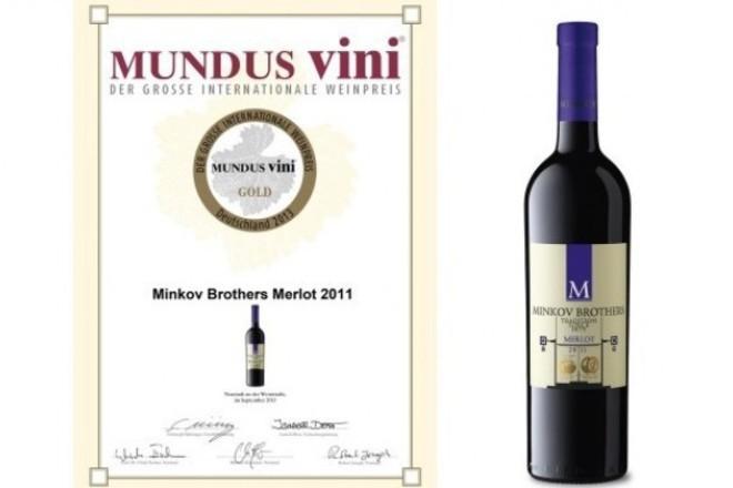 """""""Minkov Brothers Merlot"""" покори ценителите с пикантен аромат на черна череша"""