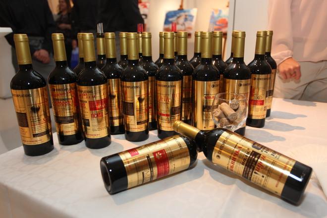 Contemplations с първата изложба на винени етикети в България