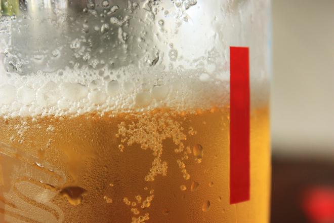 Маска за коса с бира против косопад