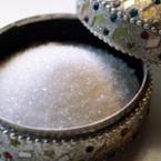 Захарта спира кръвта при порязване