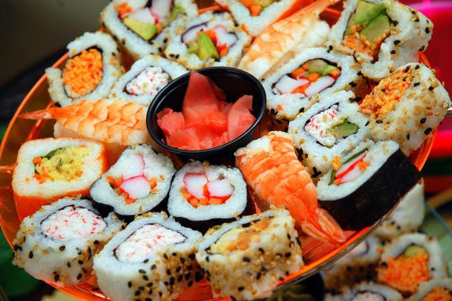 """""""Букет"""" от суши"""