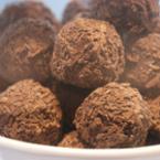 Шоколадови бонбони с бисквитки