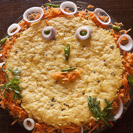 Large barza solena palachinkova torta