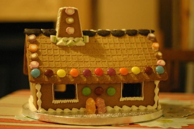 Коледна къщичка