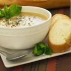 Крем супа от киселец с лапад и коприва