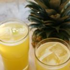 Сок от ананас и лайм