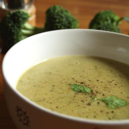 Large krem supa s brokoli
