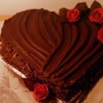 Шоколадова торта за Свети Валентин
