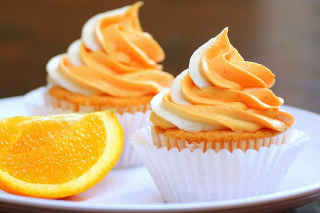 Мъфини с портокали