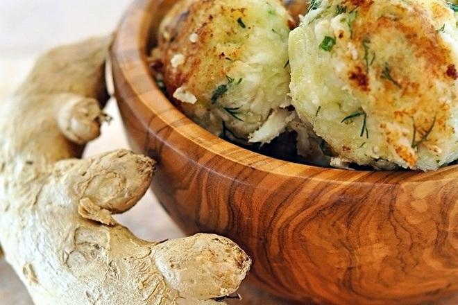 Картофени кюфтета с копър