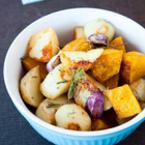 Печени картофи с чесън