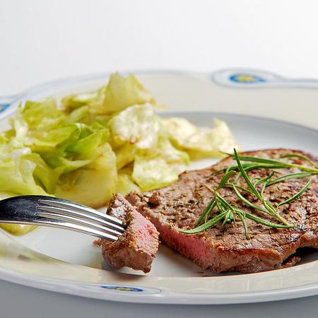Large teleshki stek