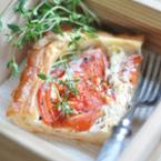 Тарта от домати и сирене