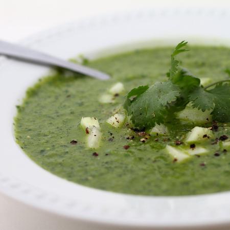 Large zeleno gaspacho