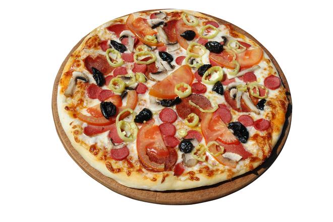 Пица със сметана