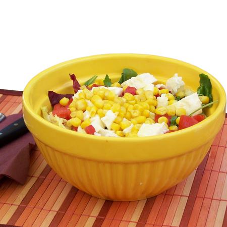 Large svezha salata s tsarevitsa