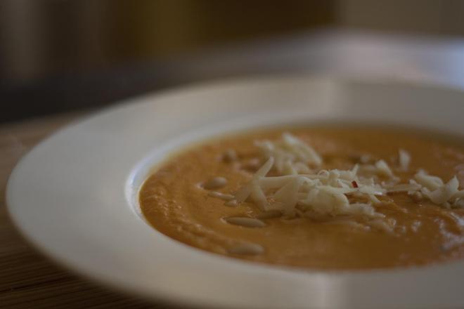Супа от тиква и кестени