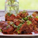 Овнешко месо със зеленчуци