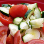 Салата от три зеленчука