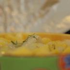 Калмари с картофи на фурна