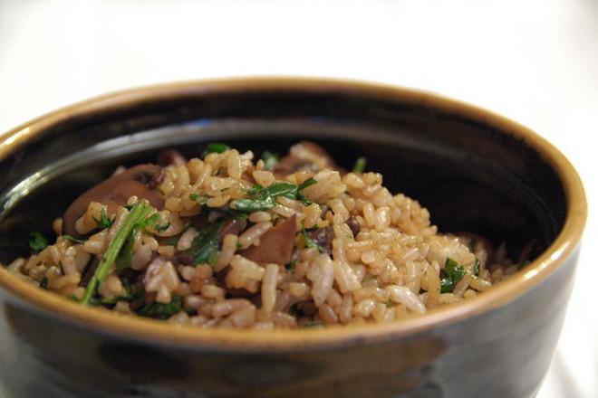Гъби с ориз