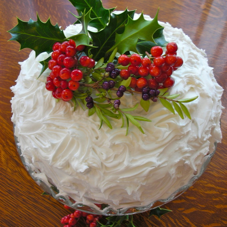 Large koledna torta