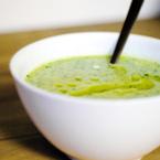 Крем супа от картофи и авокадо