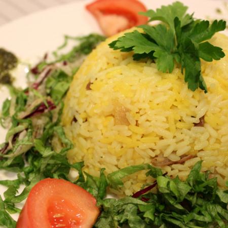 Large rizoto po uzbekski