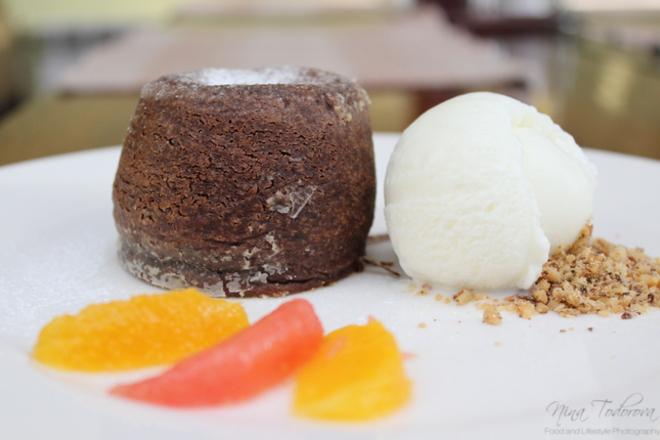 Шоколадово суфле с кувертюр