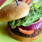 Хамбургер с телешко кюфте