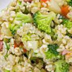 Ориз с шунка и зеленчуци