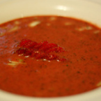 Крем супа от тиква с ягоди