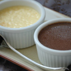 Шоколадово крем брюле