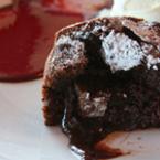 Шоколадово суфле с ром