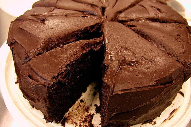 Шоколадова торта с ром