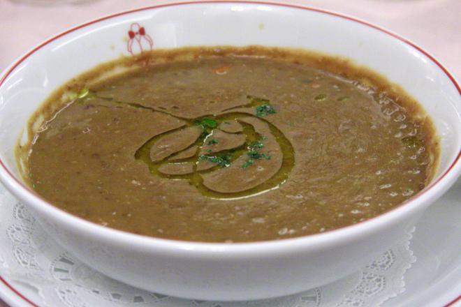 Крем супа от леща с моркови