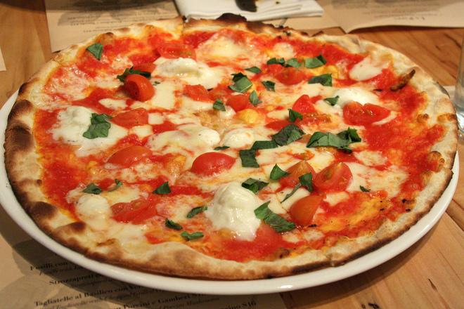 Пица с козе сирене