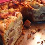 Домашен кекс с ябълки
