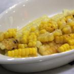 Печена царевица с масло