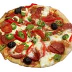 Пица със салам и моцарела