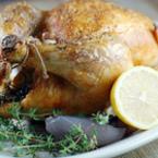 Печено пиле с лимон