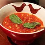 Крем супа от домати с царевица и джинджифил