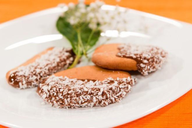 Меденки с шоколадова глазура
