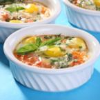 Печени яйца по провансалски
