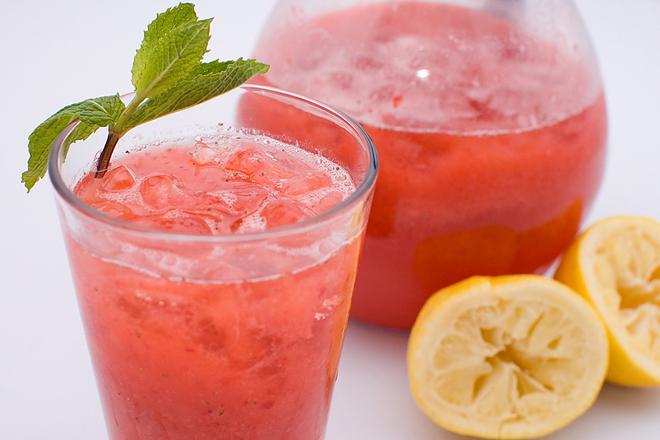 Прасковена лимонада